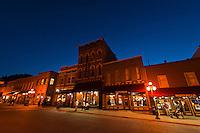 Street scene, Main Street, Deadwood, Black Hills, South Dakota USA