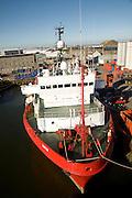 SARTOR ship, Port harbour, Aberdeen, Scotland