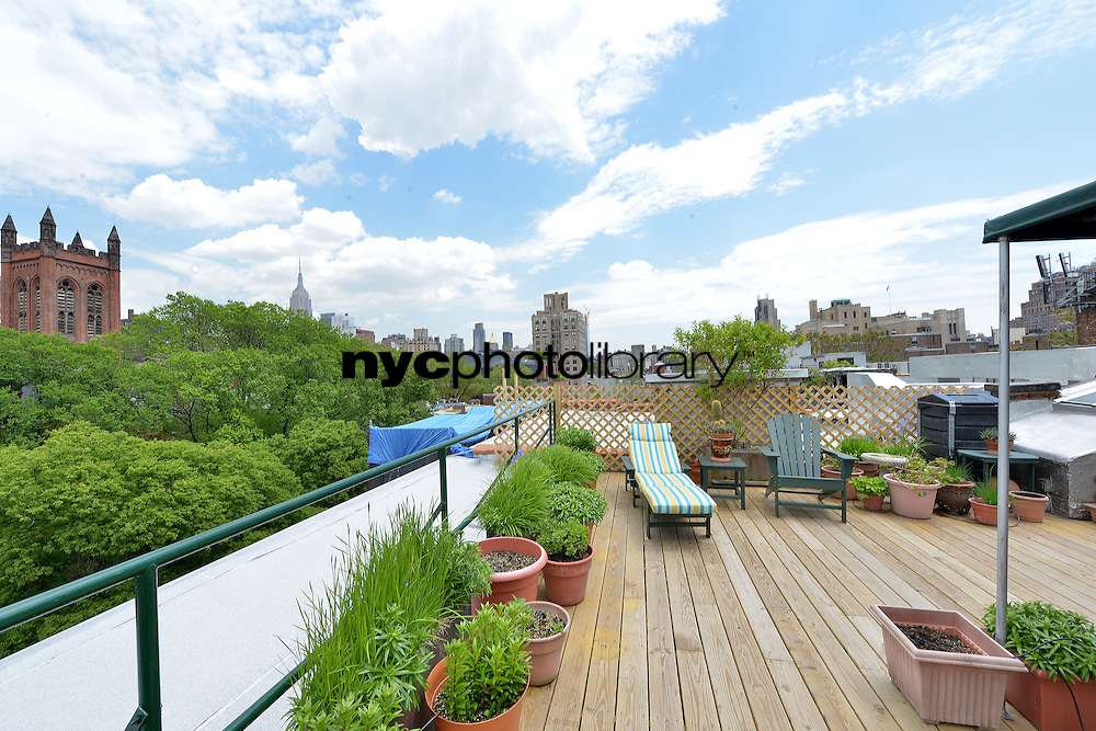 Roof Deck at 434 West 20th Street