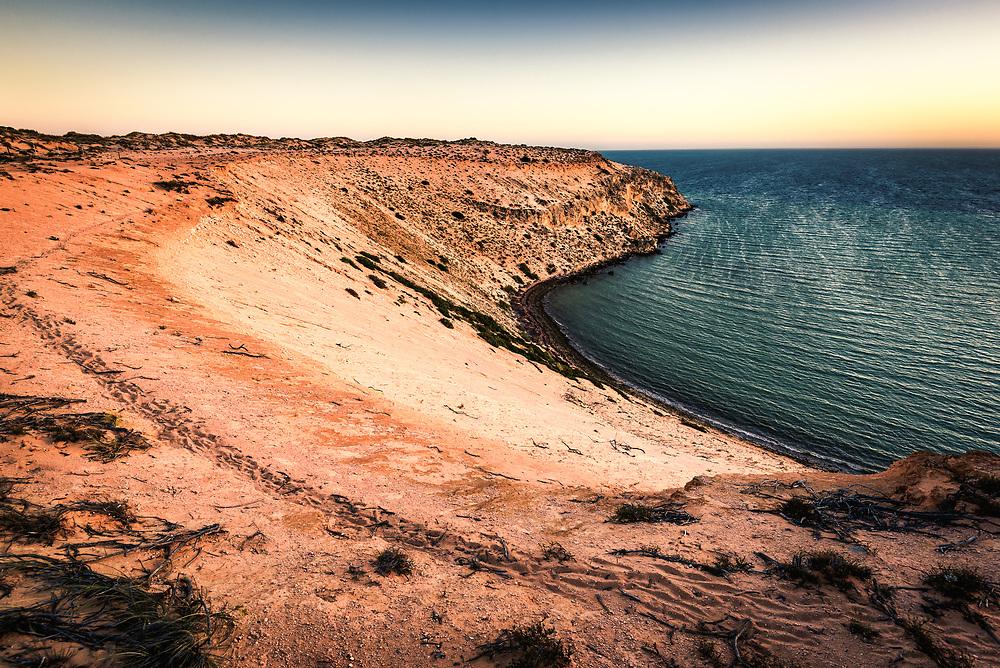 Eagle Bluff in the Shark Bay World Heritage Area, Western Australia
