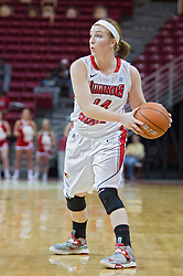 03 January 2014:  Alexis Foley during an NCAA women's basketball game between the Drake Bulldogs and the Illinois Sate Redbirds at Redbird Arena in Normal IL