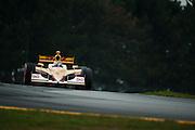 August 2011. Ryan Hunter-Reay, Indycar Honda Grand Prix of Ohio at Mid Ohio Sportscar Course in Lexington, OH.