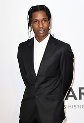 A$AP Rocky attending the 24th amfAR Gala held at the Hotel du Cap-Eden-Roc in Antibes, France. Photo Credit should read: Doug Peters/EMPICS Entertainment