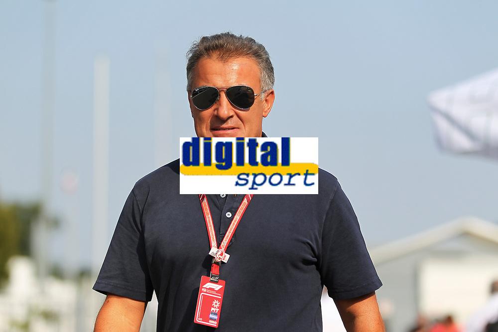 Jean Alesi<br /> Monza 30-08-2018 GP Italia <br /> Formula 1 Championship 2018 <br /> Foto Federico Basile / Insidefoto