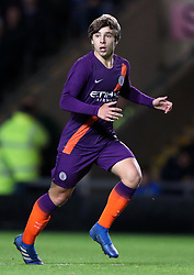 """Manchester City's Adrian Bernabe during the Carabao Cup third round match at the Kassam Stadium, Oxford. PRESS ASSOCIATION Photo. Picture date: Tuesday September 25, 2018. See PA story SOCCER Oxford. Photo credit should read: Andrew Matthews/PA Wire. RESTRICTIONS: EDITORIAL USE ONLY No use with unauthorised audio, video, data, fixture lists, club/league logos or """"live"""" services. Online in-match use limited to 120 images, no video emulation. No use in betting, games or single club/league/player publications"""