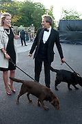 MARINA FOGLE; BEN FOGLE, Dogs Trust Honours 2009, A celebration of man's best friend. The Hurlingham Club, Ranelagh Gardens, London, SW6. 19 May 2009.