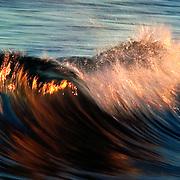 A wave near Wrightsville Beach, NC