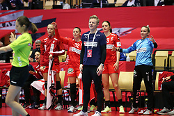 Jesper Jensen. EHF Euro 2020 Group A match between France and Denmark in Jyske Bank Boxen, Herning, Denmark on December 8, 2020. Photo Credit: Allan Jensen/EVENTMEDIA.