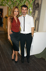 Singer MYLEENE KLASS and fashion designer KYRI (Kyriacos Kyriacus) at the opening of the new Kyri fashion store at 42 Elizabeth Street, London SW1 on 6th September 2006.<br /><br />NON EXCLUSIVE - WORLD RIGHTS