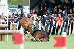 Flarup Peter (DEN) - Calista E<br /> Cross Country - CCI4* <br /> Mitsubishi Motors Badminton Horse Trials 2014 <br /> © Hippo Foto - Jon Stroud