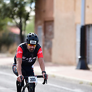 El Tour de Tucson 2019 finisher on 6th Avenue. Bike-tography by Martha Retallick.