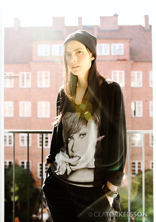 Coco Moodysson, portrait.<br /> Photo by Ola Torkelsson ©