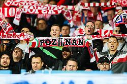October 5, 2017 - Yerevan, Armenia - Poland's fan, during the FIFA World Cup 2018 qualification football match between Armenia and Poland in Yerevan on October 5, 2017. (Credit Image: © Foto Olimpik/NurPhoto via ZUMA Press)