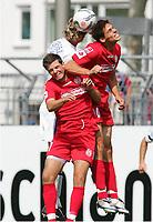 v.l. Markus DWORRAK, Sergej BARBAREZ , Manuel FRIEDRICH Mainz<br /> Bundesliga FSV Mainz 05 - Hamburger SV