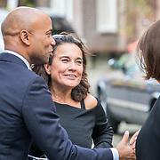 NLD/Amsterdam/20171014 - Besloten  herdenkingsdienst overleden burgemeester Eberhard van der Laan, Humberto Tan en Dione de Graaff