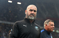 World XI's Eric Cantona during the UNICEF Soccer Aid match at Old Trafford, Manchester.