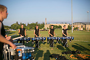 Shadow Armada performs at their final show in Whitewater, Wisconsin on July 18, 2015.