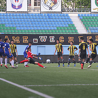 Jalan Besar Stadium, Tuesday, May 23, 2017 — Meridian Junior College (MJC) won the National A Division Football Championship for a fourth successive year after beating Victoria Junior College (VJC) 3-1. MJC had also beaten VJC by the same scoreline earlier in the season. Story: https://www.redsports.sg/2017/05/24/national-a-div-football-final-mjc-vjc-3-1/