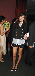 CAROLINE SIEBER at a party to celebrate the publication of Nain Attallah's book'Fulfilment & Betrayal' held at The Bluebird, King's Road, London on 1st May 2007.<br /><br />NON EXCLUSIVE - WORLD RIGHTS
