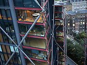 Neo Bankside flats overlooked by the Tate Modern. London. 24 September 2016