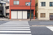 pedestrian crossing at traffic light Japan Yokosuka