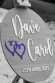Dave and Carol Wedding