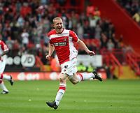 Fotball<br /> England<br /> Foto: Fotosports/Digitalsport<br /> NORWAY ONLY<br /> <br /> Coca Cola Championship. Charlton v Ipswich - 04.10.08<br /> <br /> Charlton scorer nicky bailey