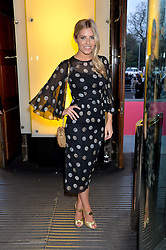 MOLLIE KING at a VIP preview of the V&A's new exhibition 'The Glamour of Italian Fashion' - a comprehensive look at Italian Fashion from 1945-2014 held at The Victoria & Albert Museum, London on 2nd April 2014.