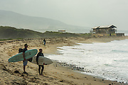 Surfers on the Beach at Trestles Lowers