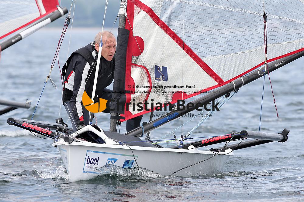, Kiel - Kieler Woche 20. - 28.06.2015, Musto Skiff - GBR 483 - Evans, John
