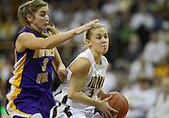 NCAA Women's Basketball - Northern Iowa at Iowa - December 22, 2010