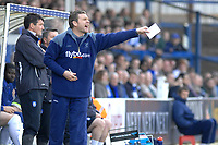 Photo: Ashley Pickering.<br />Colchester United v Norwich City. Coca Cola Championship. 31/03/2007.<br />Norwich manager Peter Grant shouts his orders from the sidelines