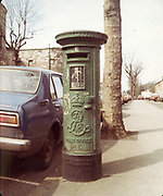 Old Dublin Amature Photos May 1984, with, St James Hospital, New Boiler House, Brookfield Rd, Rialto, Kilmainham, Powerstown, Orchard, Kilmainham Jail, Edwardian Post Box