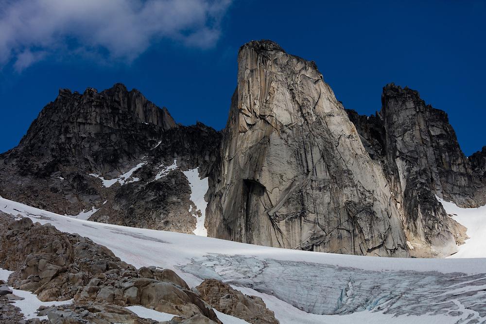 The Gar Wall in East Creek, Bugaboo Provincial Park, BC