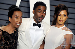 Rosalie Rock, Chris Rock arrives at the 2016 Vanity Fair Oscar Party Hosted By Graydon Carter at Wallis Annenberg Center for the Performing Arts on February 28, 2016 in Beverly Hills, California. EXPA Pictures © 2016, PhotoCredit: EXPA/ Photoshot/ Dennis Van Tine<br /><br />*****ATTENTION - for AUT, SLO, CRO, SRB, BIH, MAZ only*****