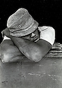 Sleeping Man - Port Antonio