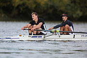 Crew: 47 - Male / Morgan - Putney Town Rowing Club - Op MasC 2- <br /> <br /> Pairs Head 2020