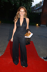 ANDREA DELLAL at a party to celebrate the opening of Roger Vivier in London held at The Orangery, Kensington Palace, London on 10th May 2006.<br /><br />NON EXCLUSIVE - WORLD RIGHTS