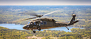 "South Carolina Army National Guard UH-60 ""Blackhawk"" helicopter, photographed near Conyers, Ga."