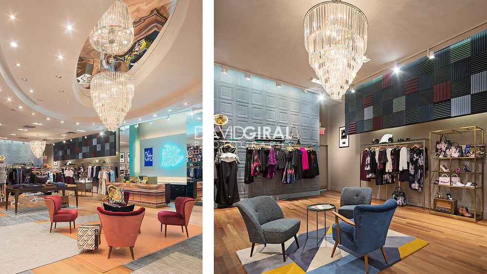 Commercial Retail Architecture & Interiors Photography - Ted Baker Store - Laval