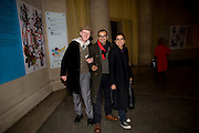 BOB AND ROBERTA SMITH; Subodh Gupta; BARTA KHER, Altermodern, Tate Triennial 2009, Tate Britain. London. 2 February 2009