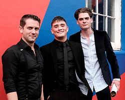 Edinburgh International Film Festival 2019<br /> <br /> Schemers (world premiere)<br /> <br /> Pictured: Grant R Keelan, Sean Connor and Conor Berry<br /> <br /> Alex Todd | Edinburgh Elite media