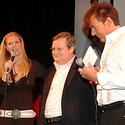 NLD/Amsterdam/20070301 - Perspresentatie So You wannabe a popstar, Nance Coolen, Hilbrand Nawijn en Gerard Joling