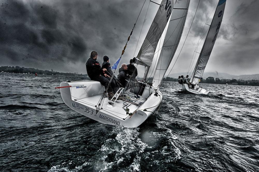 Volvo Match Race Cup 2012 Zurich<br /> 12.5.2012 Zurich<br /> Round Robin Day