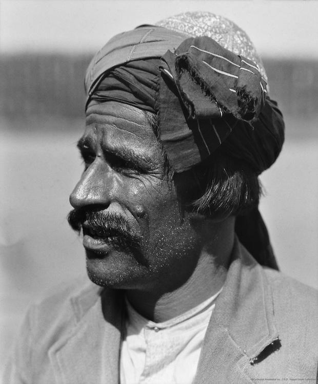 Afghan Money Lender, Guntakal, India, 1929