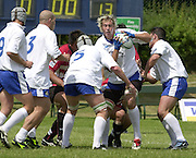 Oxford, England.<br /> <br /> IRB U21 Rugby World Cup - Iffley Road - Oxford <br /> 21.06.2003. Italy vs Japan, [Mandatory Credit: Peter SPURRIER/Intersport Images]  <br /> Italian jumper Sergio Parisse