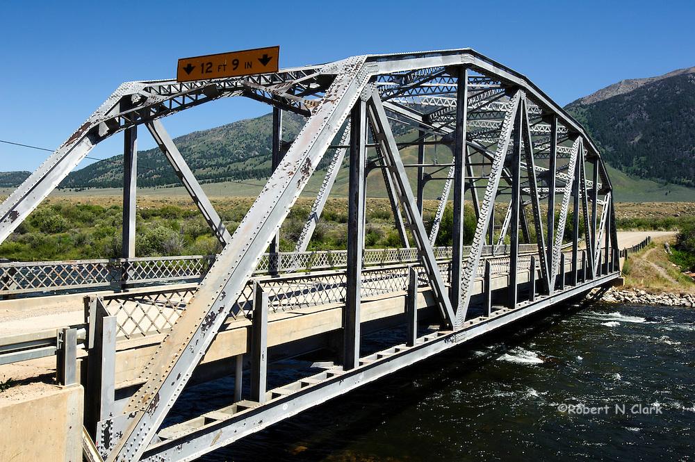 Three Dollar Bridge on the Madison River, Montana
