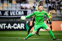 MARIBOR, Slovenia - SEPTEMBER 16: Markus Schubert of Vitesse  during the UEFA Conference League match between Mura and Vitesse at Stadion Ljudski vrt on September 16, 2021 in Maribor, Slovenia
