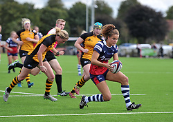 Lucy Attwood of Bristol Bears Women scores a try against Wasps FC Ladies - Mandatory by-line: Paul Knight/JMP - 08/09/2018 - RUGBY - Shaftesbury Park - Bristol, England - Bristol Bears Women v Wasps FC Ladies - Tyrrells Premier 15s