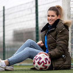 20201126: SLO, Football - Portrait of football player Sara Nemet - ZNK Pomurje
